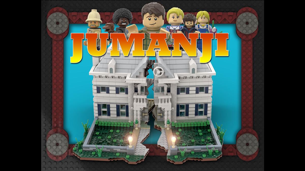 レゴアイデアで映画『ジュマンジ』が製品化レビュー進出!2020年第3回1万サポート獲得デザイン紹介
