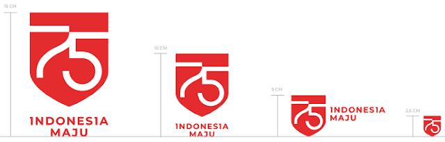 Logo Resmi HUT RI Ke 75 Tahun 2020