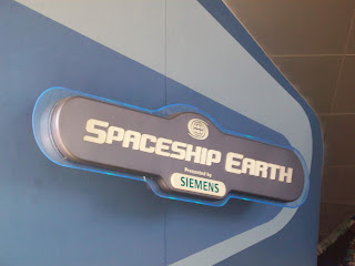 Spaceship Earth Siemens Entrance Sign