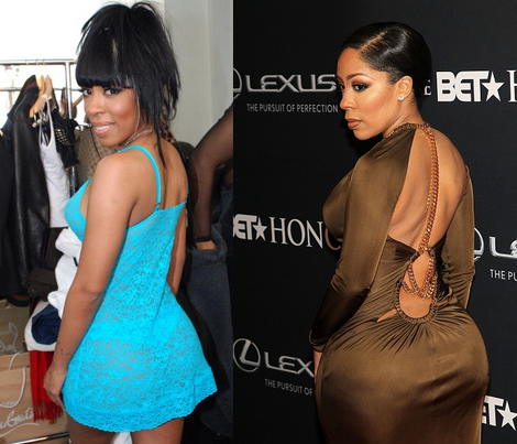 K. Michelle to get rid of her butt implants in January ... K Michelle Before And After