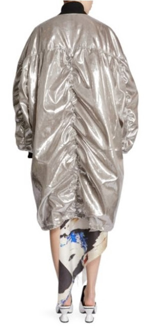 Oversized Metallic Outerwear