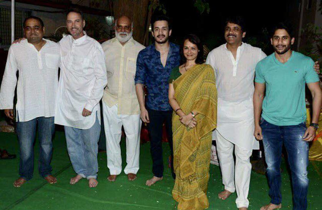 "Directed by Vikram K. Kumar Akhil Akkineni hero in the beginning of the movie King Nagarjuna Directed by Vikram K. Kumar, Akhil Akkineni Annapurna Studios movie, we enter the flag praijas on the 'King', a film produced by Nagarjuna 'Production No. 29' Annapurna Studios on the evening of April 2, 6, 17, was launched in the presence of family members to the Akkineni. The truth is the great granddaughters of Akkineni sagari gave the clap, darsakendrudu keraghavendra Rao B camera was switched on. God's first shot was filmed on the map. Akhil Akkineni hero, director Vikram K. Kumar, producer of Nagarjuna, Amala Akkineni, Naga Chaitanya, Supriya, a. Naga Susheela, Sumanth, Sushant, delayed Surendra were also present on the occasion. Chitra producer 'King' Nagarjuna said, "" 'we' are doing the work of the technical team of the film will be a trend setter."" He said that the regular shooting from April 3, celebrates. Music: Anoop Rubens, cinematography: BS. Vinod, art rajivan, editing by Praveen Pudi, Producer: Nagarjuna's writing, directed by Vikram K. Kumar."