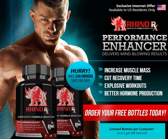 Rhino RX - Muscle Supplement