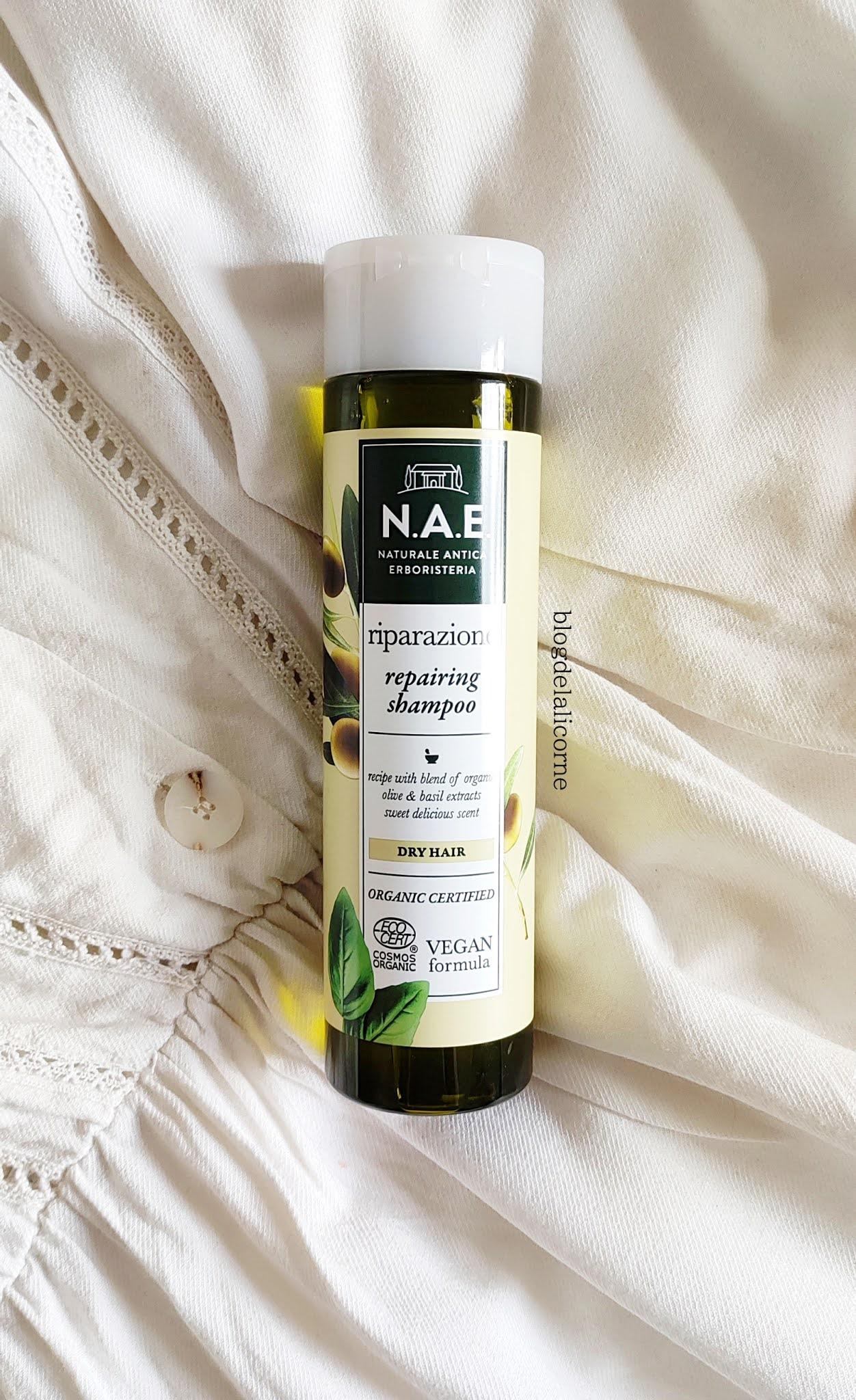N.A.E. Riparazione šampón recenzia