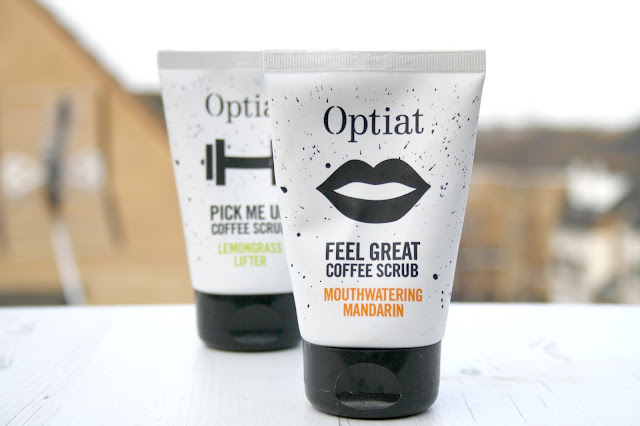Optiat Coffee Scrubs