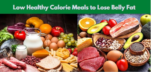 Low Healthy Calorie Meals to Lose Belly Fat
