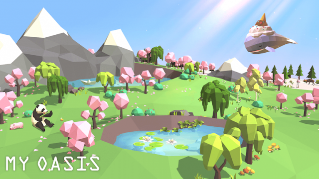 My Oasis Mod Apk Unlimited Money