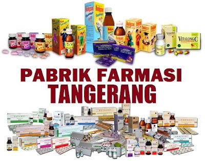 Pabrik farmasi Tangerang