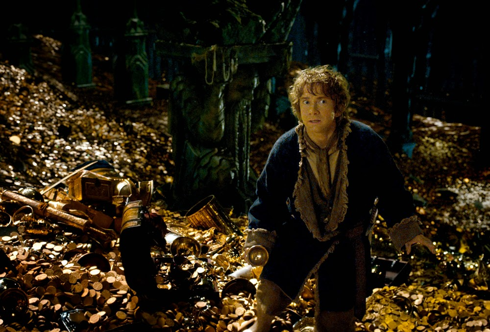 Martin Freeman in The Hobbit: The Desolation of Smaug