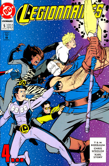 Legionnaires #5 annotations: New Life, New Death!