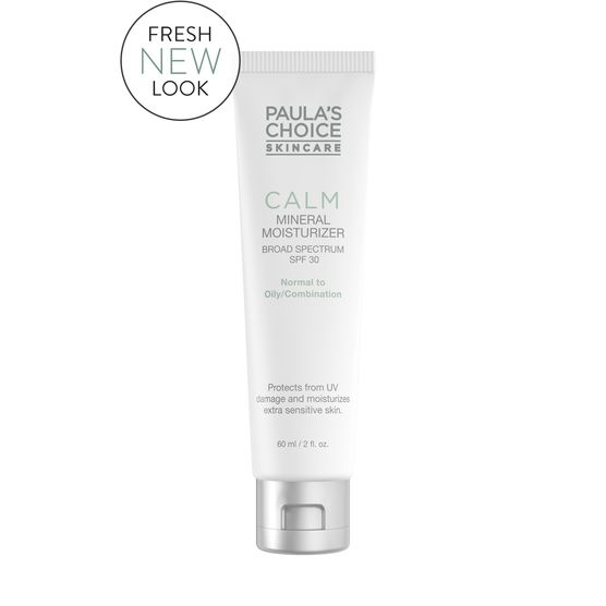 Paula's Choice Calm Redness Relief SPF 30 Mineral Moisturizer for Normal to Oily Skin - New Packaging