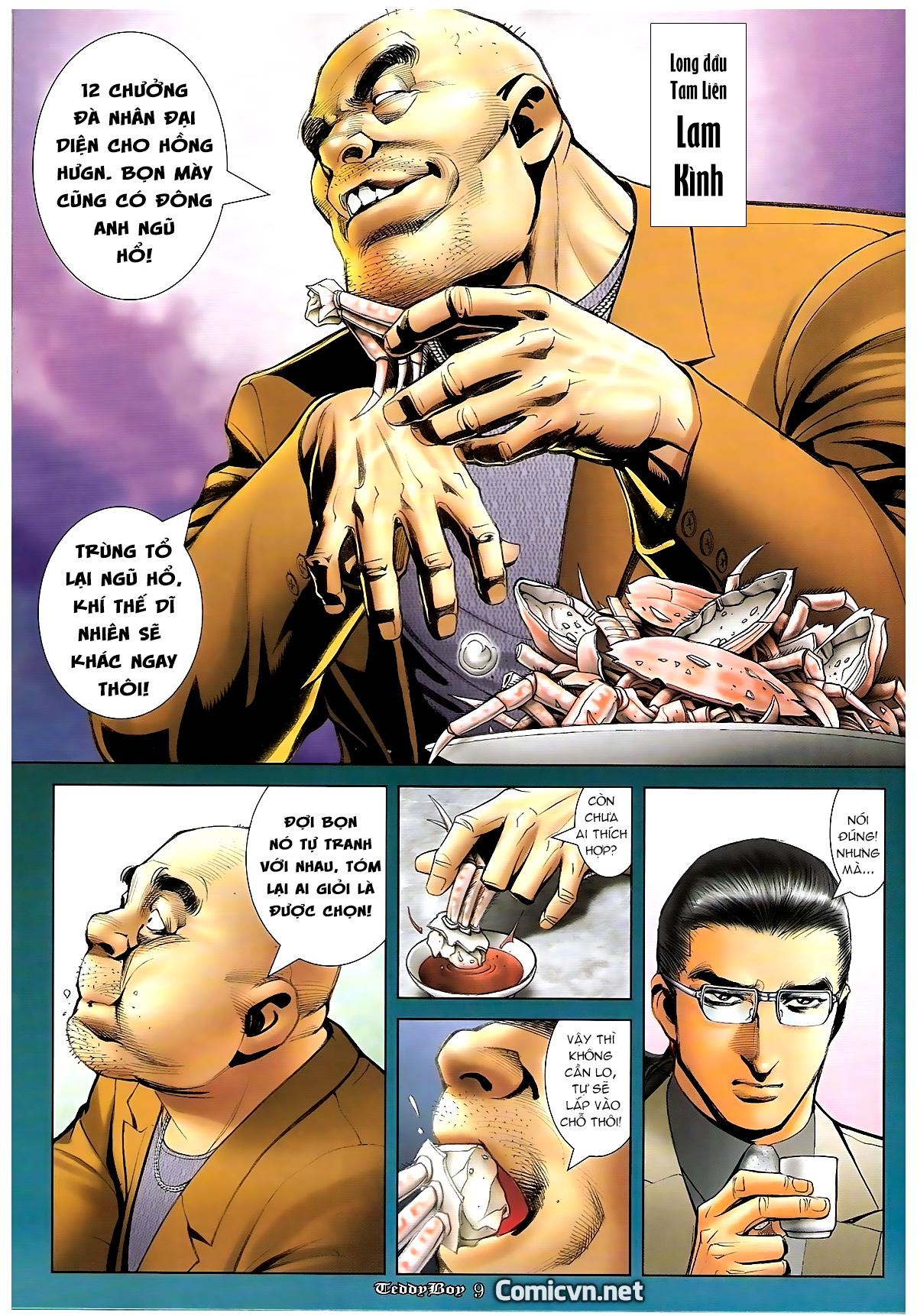 Người Trong Giang Hồ - Chapter 1246: Ngũ Hổ trùng tổ - Pic 8