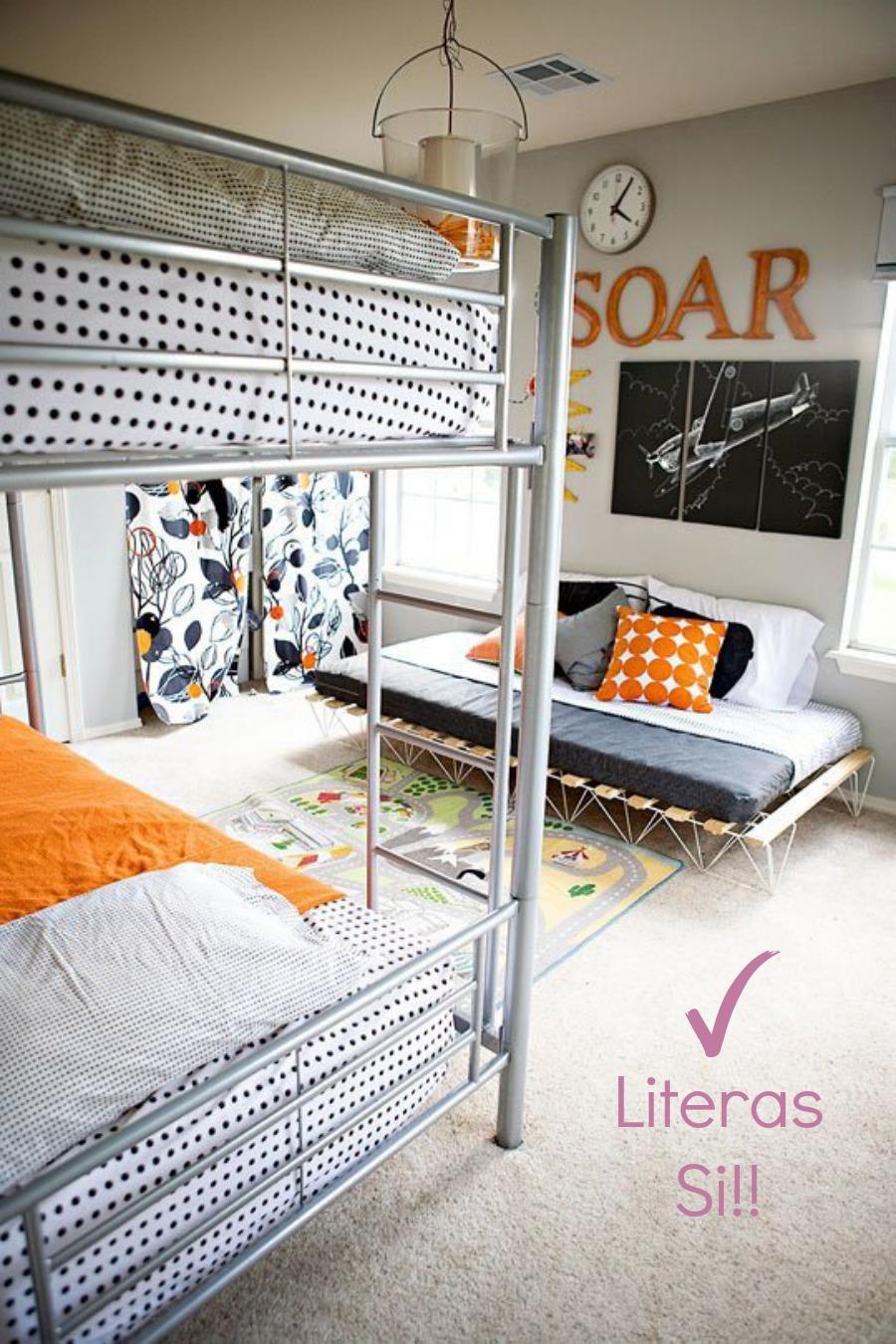 Literas habitación
