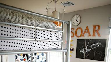 SOS Redecorando la habitación de un niño grande.