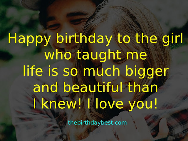 Birthday Wishes for Girlfriend Romantic