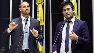 Eduardo Bolsonaro perde ação  na justiça contra Kim Kataguiri