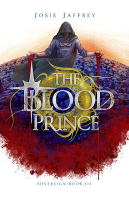The Blood Prince by Josie Jaffrey book cover