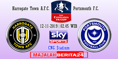 Prediksi Harrogate Town vs Portsmouth — 12 November 2019