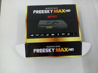 ATUALIZAÇÃO FREESKY MAX HD MINI V 115 - 11/05/2018