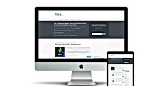 Elice blogger template download |