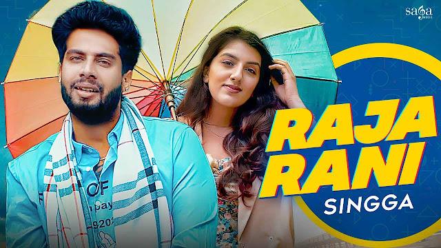 Raja Rani Lyrics – Singga