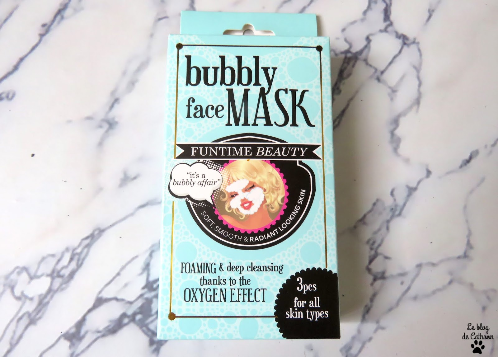 Bubbly Face Mask d'Action