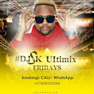 DJ SK returns with a new mix titled Ultimix Fridays the 2019 instalment. The new mix contains some classic South African sounds as well as newer releases.