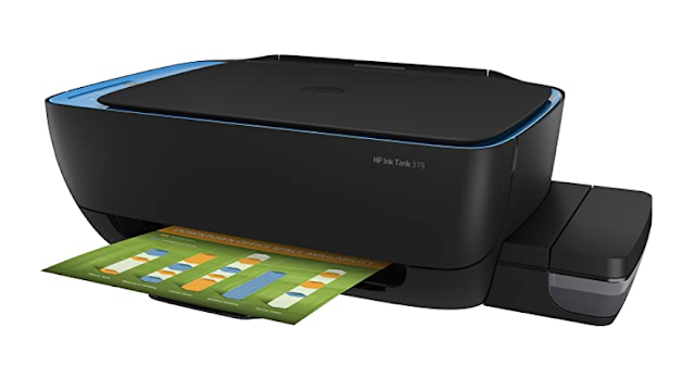 HP 319 All-in-One Ink Tank Colour Printer for Small Office and Home use