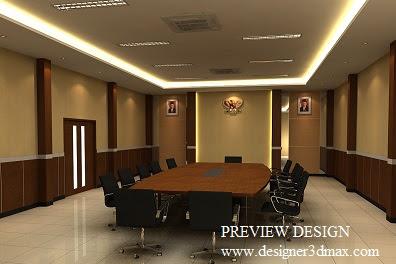 Jasa design ruang meeting mewah harga murah berpengalaman