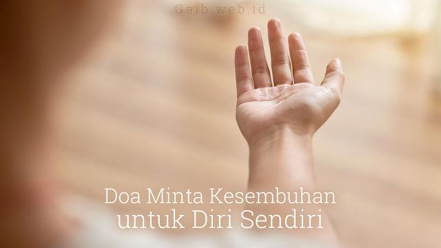 Doa Minta Kesembuhan untuk Diri Sendiri