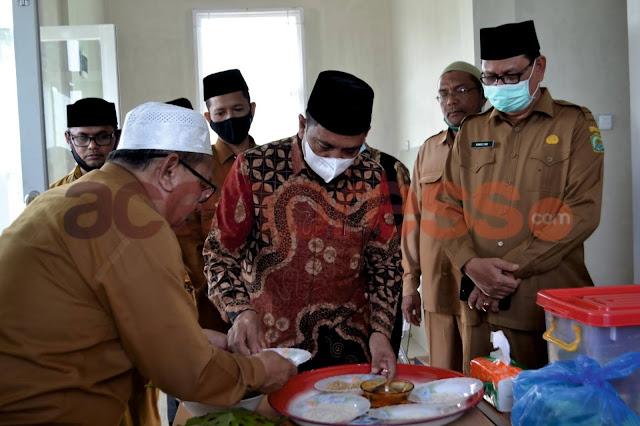 Kunker Ke Pijay, Kakanwil Peusijuek KUA Meureudu dan Launching MTs Tastafi
