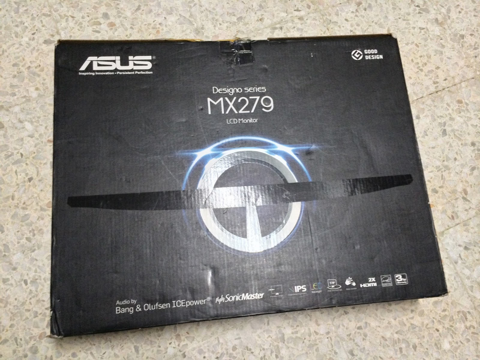 Unboxing & Review: ASUS MX279H Designo Series LCD Monitor 3
