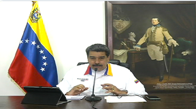El presidente de la República, Nicolás Maduro exige más disciplina
