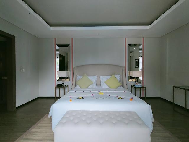 Kamar utama holiday villa