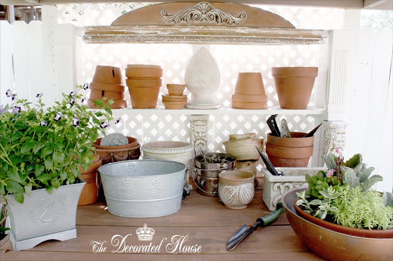 The Decorated House - Donna Courtney - Potting Bench