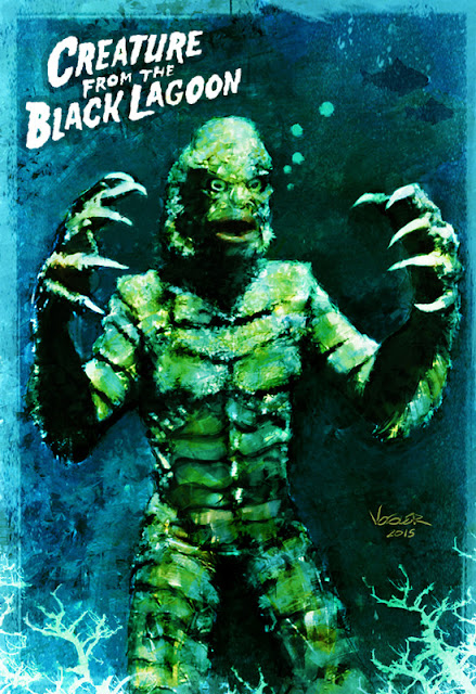 universal monsters, creature from the black lagoon