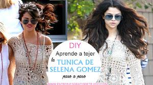 Cómo tejer la túnica de Selena Gómez / Tutorial