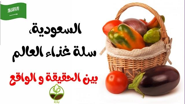 """المملكة العربية السعودية """"سلة غذاء العالم"""" هل هذا اللقب ممكن!?"""