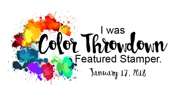 Color Throwdown # 476