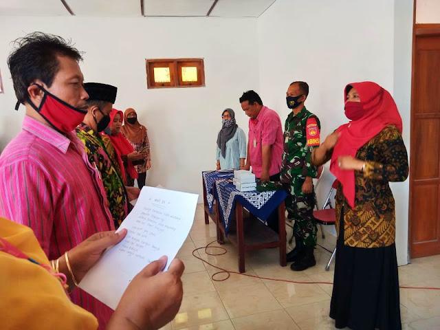 Babinsa  Koramil  Juwiring Hadiri Rapat Pokja Kampung KB
