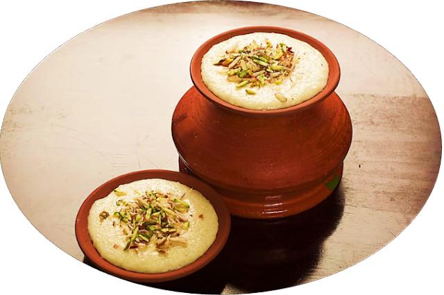 homemade-Indian- Dryfruit-saffron-lassi
