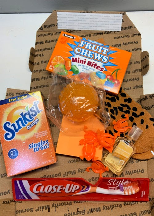 Orange you glad you're loved care package for college students