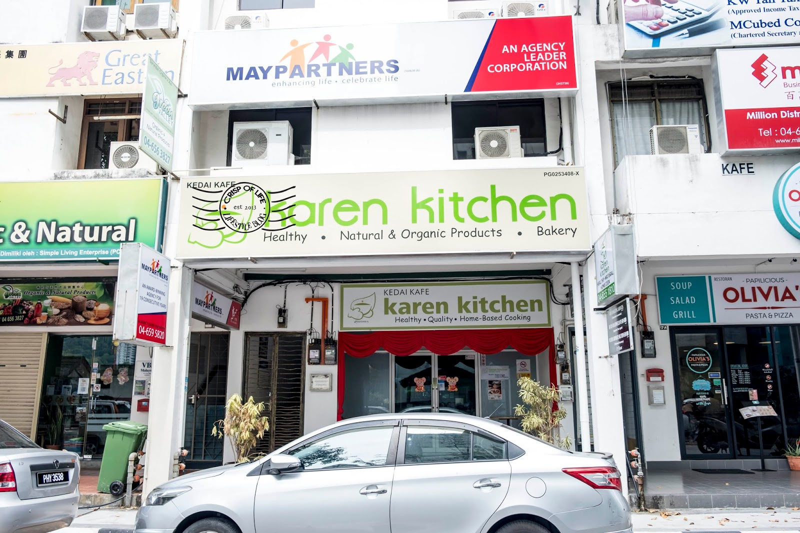 Healthy and Homebase Cooking @ Karen Kitchen, Jelutong