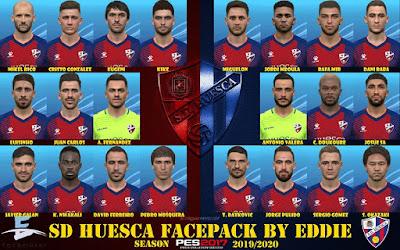 PES 2017 SD Huesca Facepack by Eddie