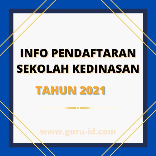 gambar info sekolah kedinasan 2021