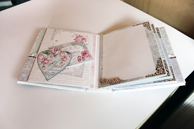 Scrapbooking album ślubny