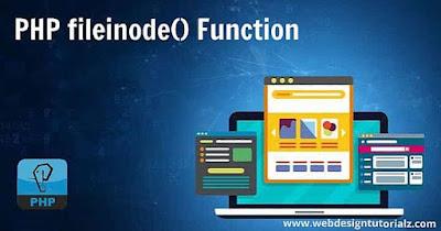 PHP fileinode() Function