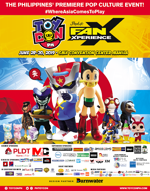 TOYCON'S 18TH YEAR IN THE ASIAN POP CULTURE SCENE