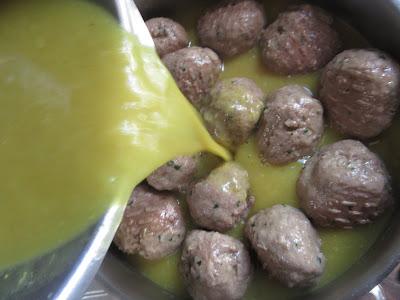 Albóndigas en salsa de curry Thermomix