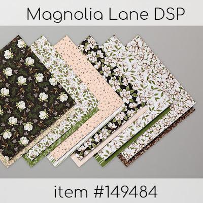 Stampin' Up!'s Magnolia Lane DSP item #149484